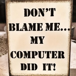 Me - computers, phones, iPads - you name it - we are not compatible. Such a perfect gift from a dear friend who has watched me and knows the struggle is real.